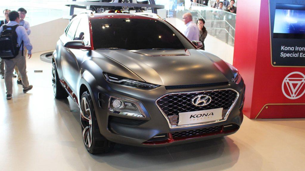 Hyundai Kona Ironman 2019 MCU