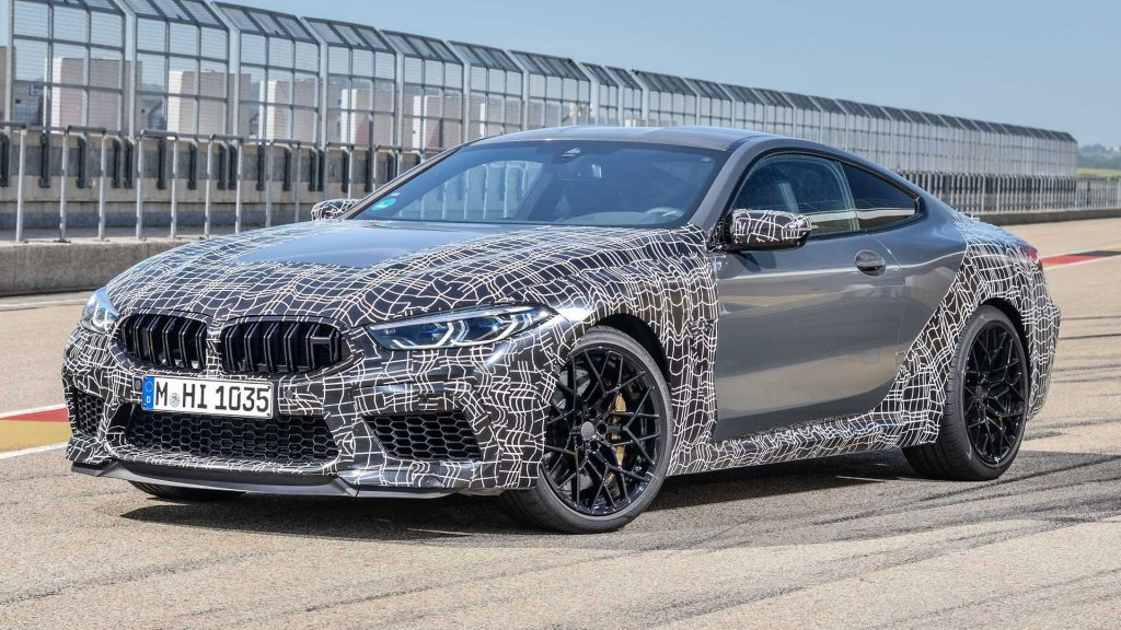 BMW M8 2020 auto prueba
