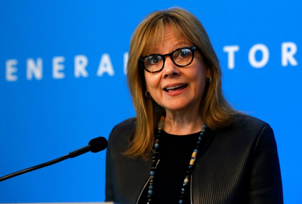 CEO de GM Mary Barra