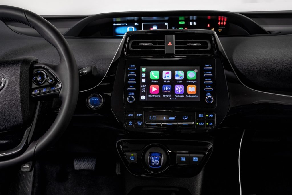 Toyota Prius 2020 con Apple Car Play