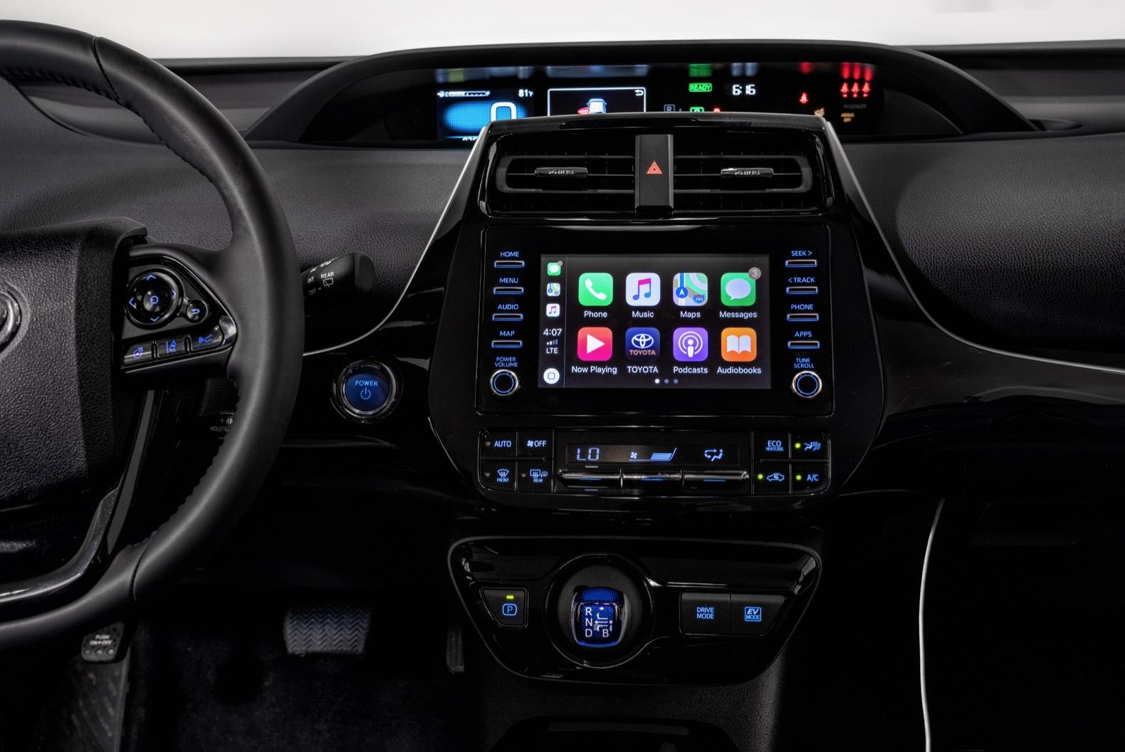 Toyota Prius 2020 con Apple Car Play