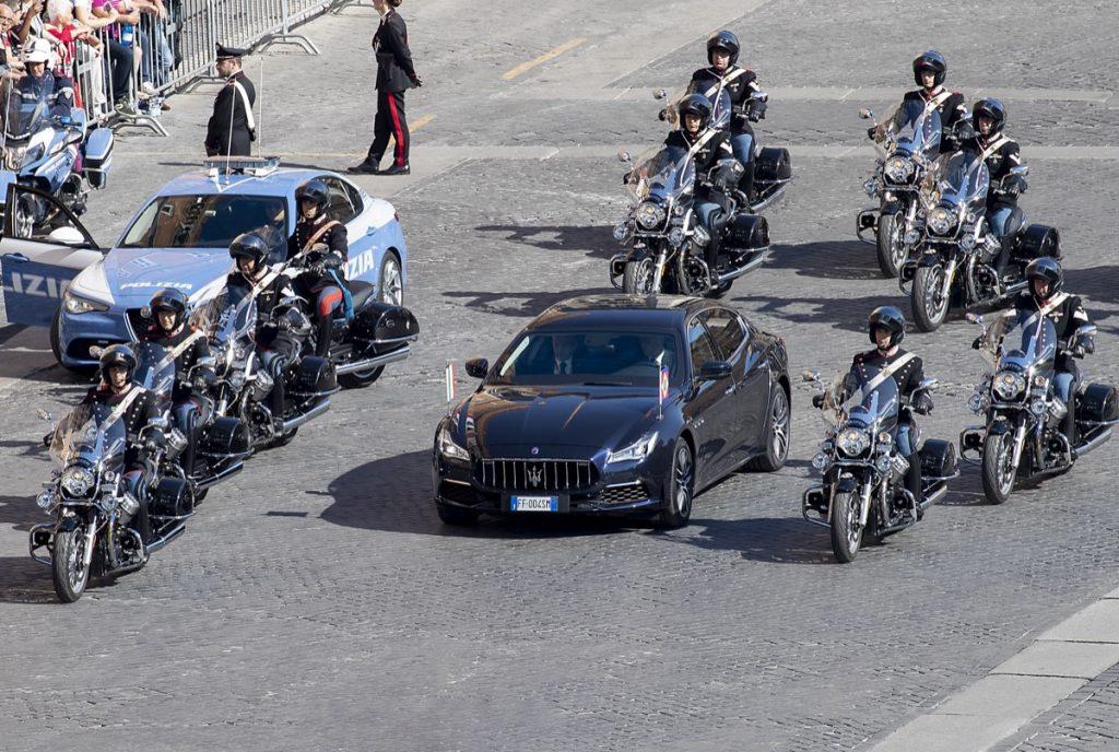 Maserati Quattroporte limusina del presidente de italia