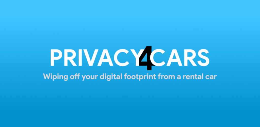 Privacy4Cars logo azul