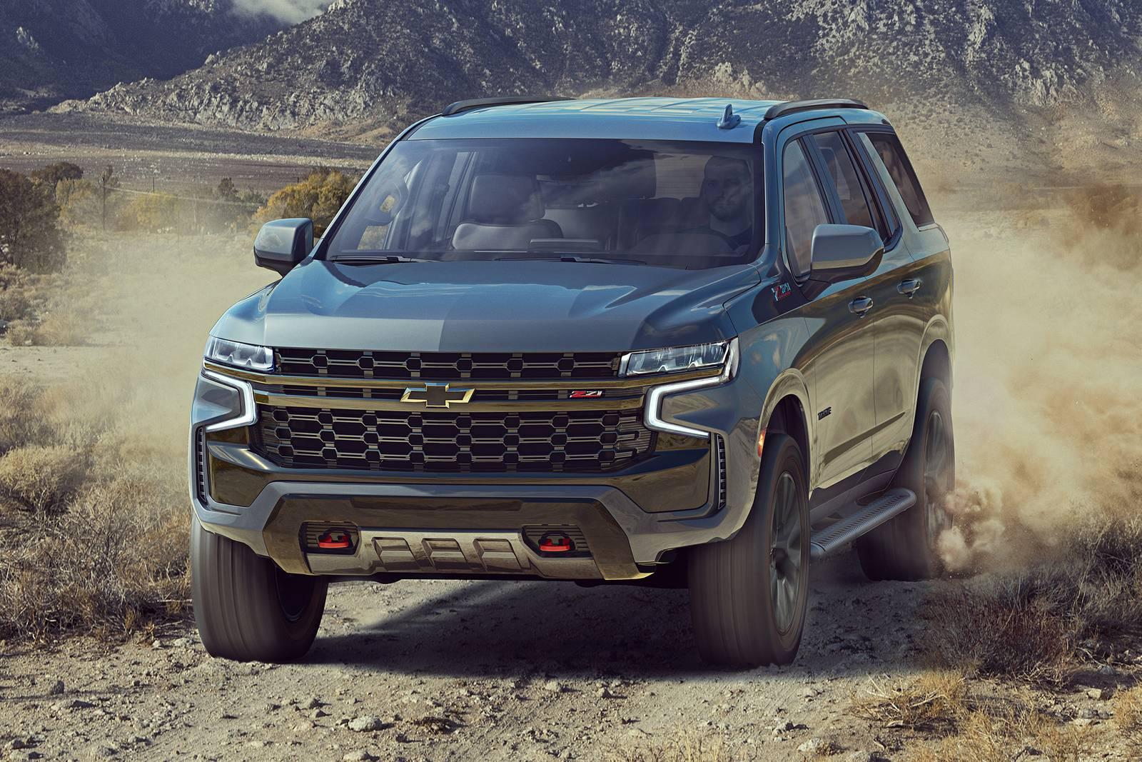 Chevrolet Tahoe 2021 Z71 en el desierto