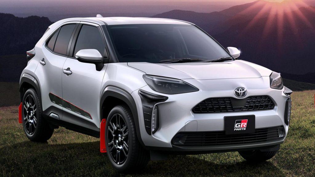 Toyota Yaris Cross Racing 2021 en el campo