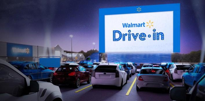Nuevo autocinema de Walmart en EU